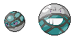 Net Ball Voltorb and Electrode by Irubiz