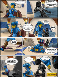 Hunters and Hunted Ch 7 Pg 35 by Saronicle