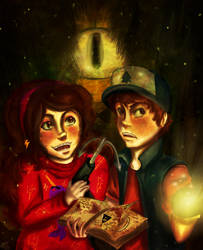 Welcome to Gravity Falls by Checker-Bee