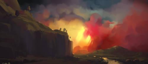 Sky Piece by saltytowel