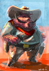 Big Pig by saltytowel