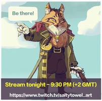 Stream Announcement by saltytowel