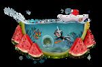 Watermelon Wonderland by saperlipop