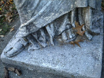 At Her Feet by Myszkowski
