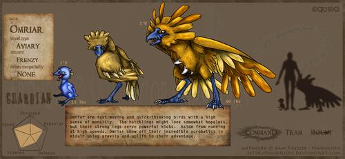 equira:guardian: Omriar by Narsilion