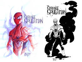 THE STRANGE SPIDER-MAN by Frederic-Mur