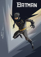BATMAN REDESIGN by Frederic-Mur