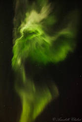 Green ghost by Annabelle-Chabert