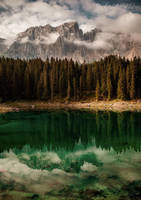 Lago di Carezza by Annabelle-Chabert