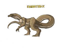 Komodithrax by Kaijudude