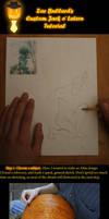 Pumpkin design tutorial by Atsuiai