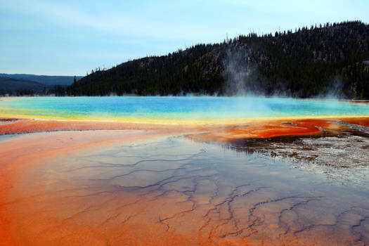Yellowstone Hotspring - Prism of Life by CaenRagestorm