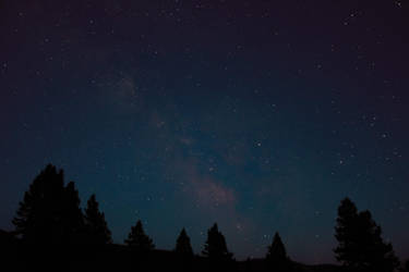 Night sky in Idaho by CaenRagestorm