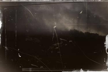 Apocalypse behind the train window by CaenRagestorm