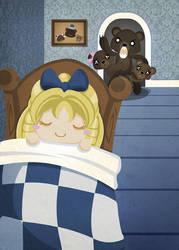 Goldilocks and the Three Bears by SquidPig