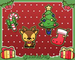 Merry X-mas 1 by SquidPig