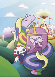 Candy Kingdom - Kawaii Adventure Time by SquidPig