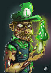 Luigi-zombie by ipnoze