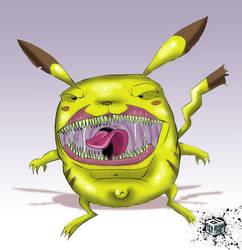 pikachu badass by ipnoze