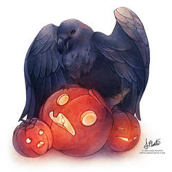 The Raven - Halloween 2016 by SaraPlante