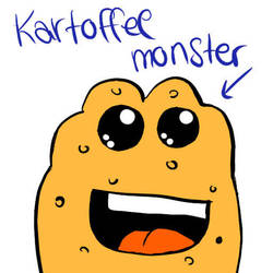 Kartoffel Monster by Elli-Fu