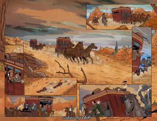 Old west race by ddeki