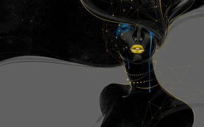 Dark girl by xnhan00