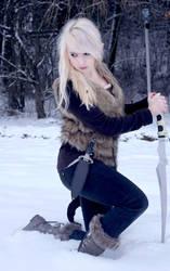 Snow Elf #04 by Liancary-art