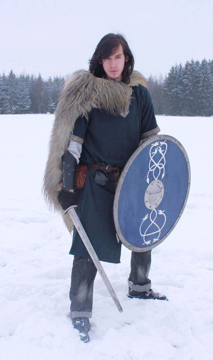 Nordic Warrior by Liancary-art