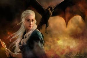 Daenerys Targaryen by Liancary-art
