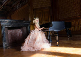 Piano Princess by Liancary-art