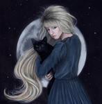 Luna by Liancary-art