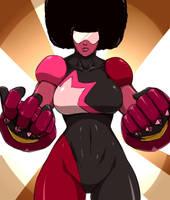 Garnet - Steven Universe (sketch) by DoctorZexxck