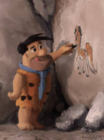 Cave Painting by Cannibalus