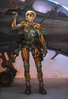 Exoskeleton by slipgatecentral