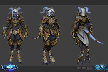 Heroes of the Storm - Yrel by slipgatecentral