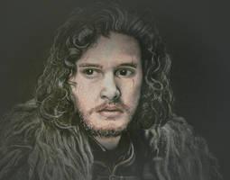 Jon Snow by ellthalion