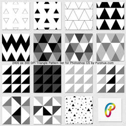 Purshue Triangle Patternset by Purshue