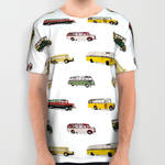 Drive my bus all over print shirt by Purshue