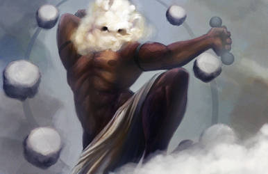 Raijin Cumulus by angryzenmaster
