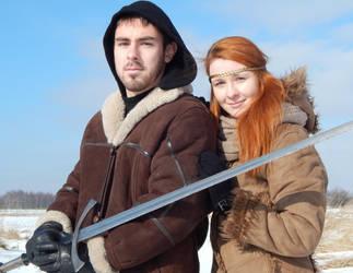 Sylwia i Damian - medieval 2 by Blondpopaprane
