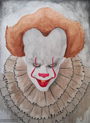 Pennywise the Dancing Clown by rasgardart