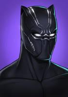 Black Panther by StefanConstantinArt