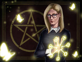 The Magicians Fanart Contest - Alice by StefanConstantinArt