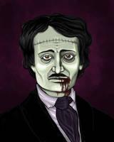 Edgar Allen Poe Undead by raevynewings