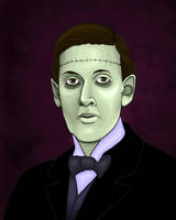 HP Lovecraft Undead by raevynewings