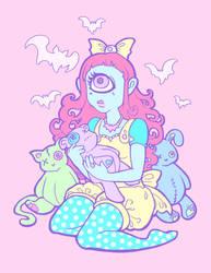 Cyclops Girl by raevynewings
