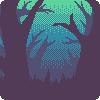 forest icon (f2u) by AkumiIrako