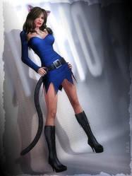 Tradeart for GroovyGoddess by catgirl-zone
