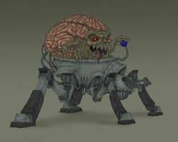 SpiderMastermind by Owl-Robot